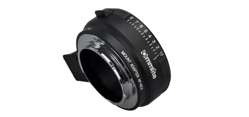 Nikon F-mount to Sony E-mount autofocus adapter