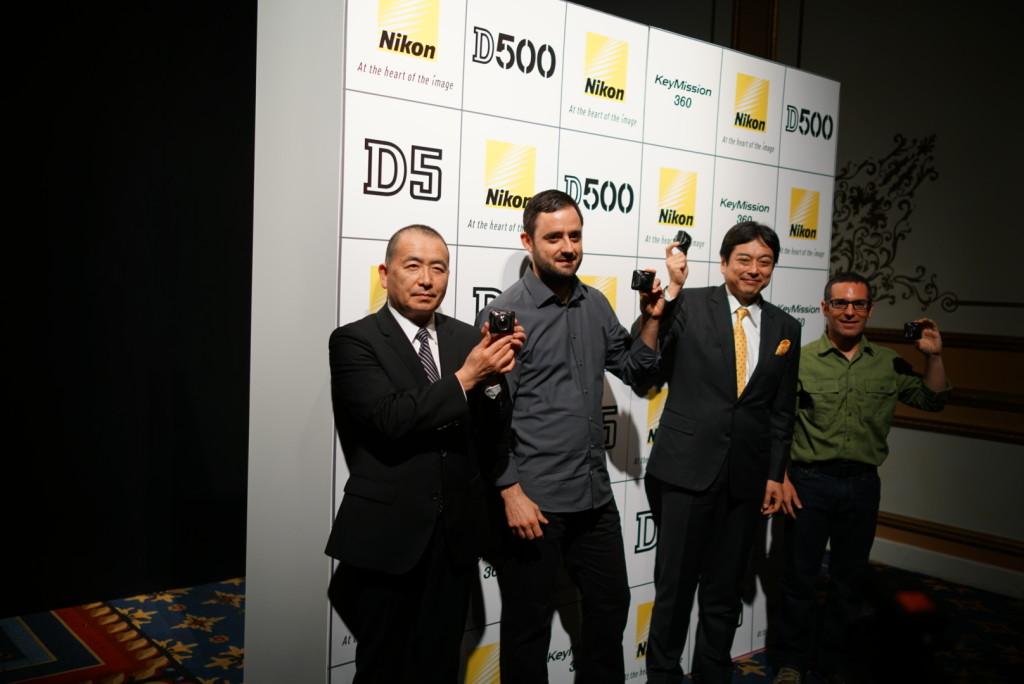 Sony execs and ambassadors