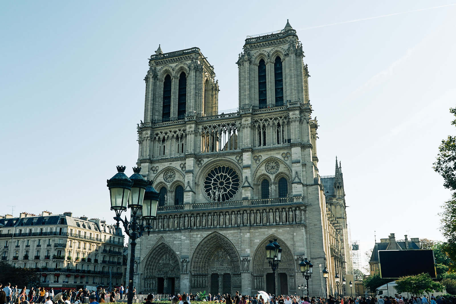 Notre-Dame in Paris Photos by Bike