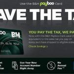 Payboo Refunds Sales Tax