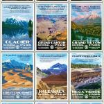 WPA-Style Posters of Our National Parks