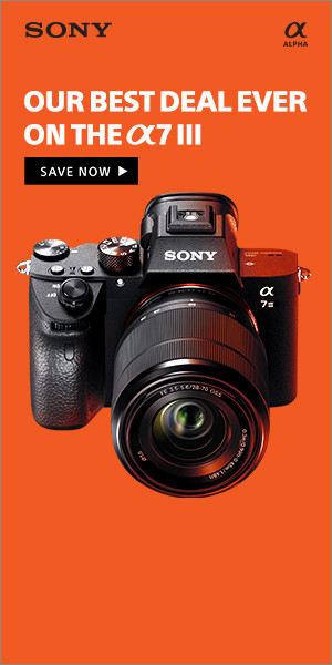 Sony a7 III Black Friday Sale