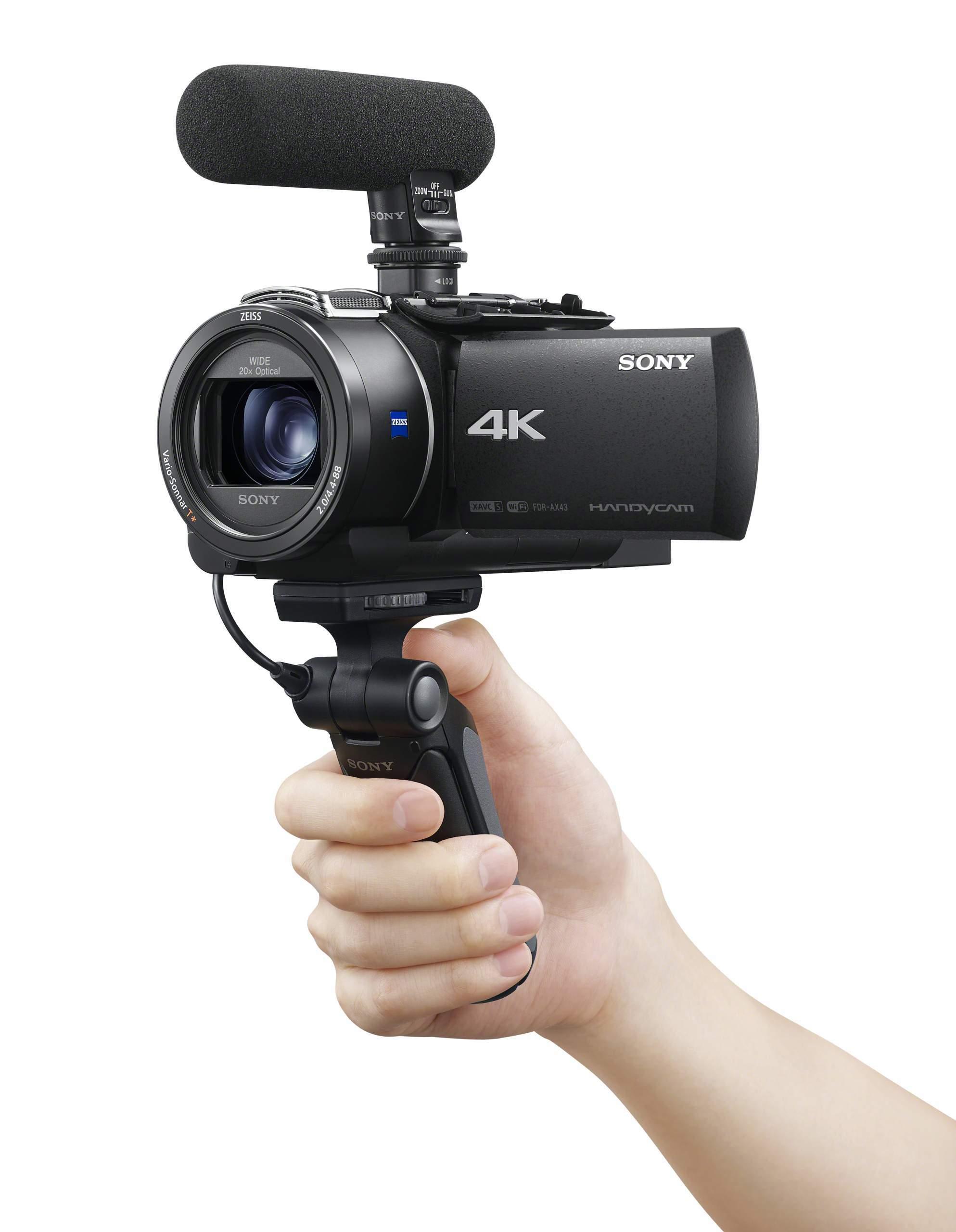 Handycam with Balanced Optical SteadyShot