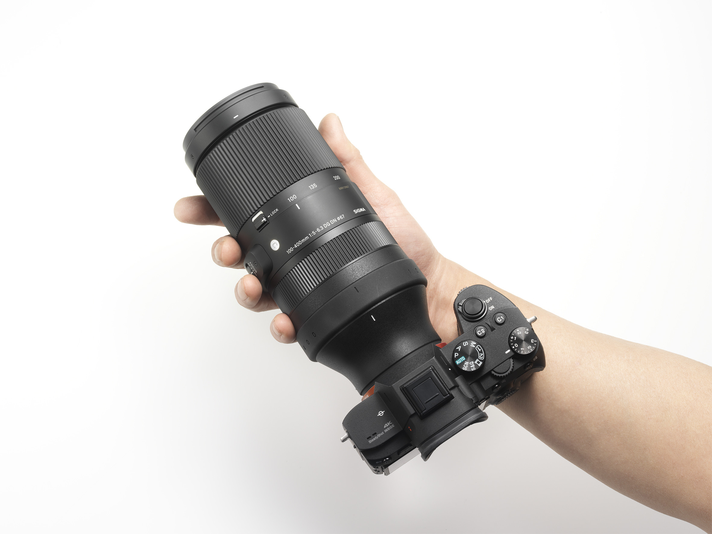 Sigma Unveiled 100-400 E-Mount