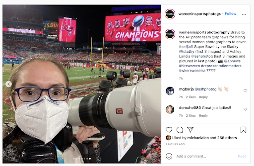 Women shot the Big Game with Sony
