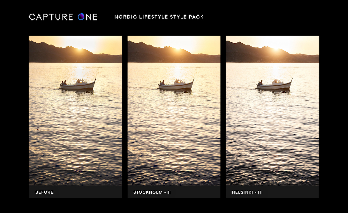 Capture One New Style Packs